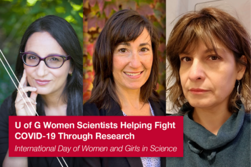 Dr Madhur Anand, Gabrielle Brankston and Dr. Monica Cojocaru
